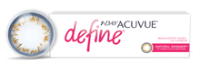 1-DAY ACUVUE DEFINE natural shimmer (30шт.)